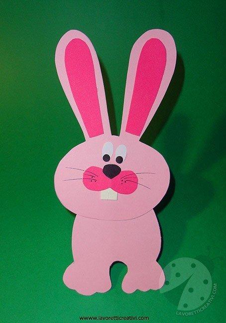 Lavoretti Pasqua  Coniglio di carta