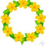Ghirlanda di fiori – Sagome