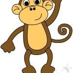 Animali della giungla – Sagoma scimmia