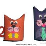 Come realizzare animali con i tubi di carta igienica