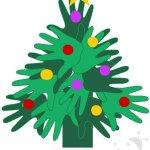 Albero di Natale – Lavoretto con le mani