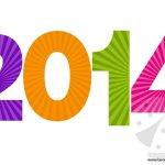 Festone 2014 da stampare