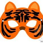 Maschere di animali – Tigre