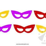 Festone di Carnevale con le maschere