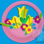 Lavoretto Festa della Mamma – Cesto di fiori