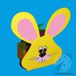 Lavoretti di Pasqua – Cestino Pasquale