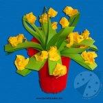 Lavoretti Festa della Mamma – Vaso con fiori
