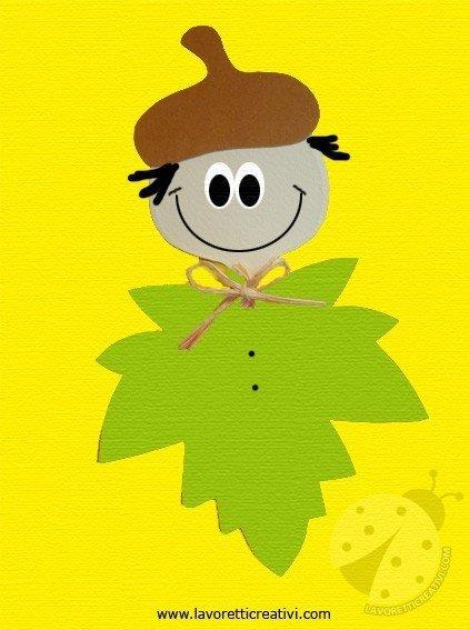 Lavoretti autunno scuola primaria lavoretti creativi for Addobbi autunno scuola infanzia