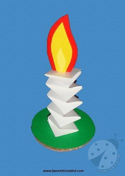 Come realizzare una semplice candela  Lavoretti Creativi