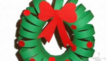 Ghirlanda Di Natale Con La Pasta Lavoretti Creativi