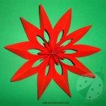 Come realizzare una Stella di Natale di carta