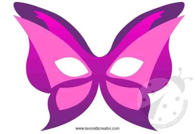 maschere-carnevale-farfalla-rosa