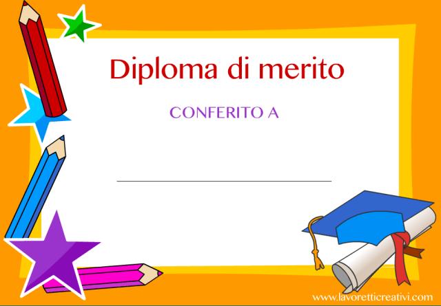 Diplomi scuola primaria