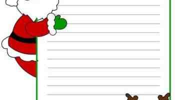 Letterine Di Natale Babbo Natale Lavoretti Creativi