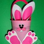 Lavoretti Pasqua – Cestino Pasquale per bambini