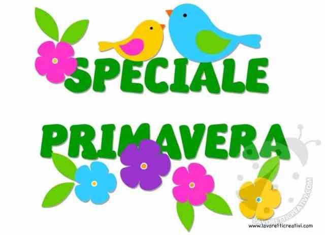 Speciale Primavera addobbi e decorazioni