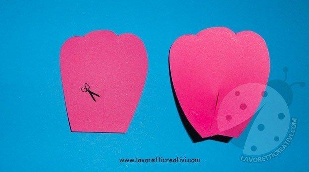 Come fare fiori di carta semplici 2