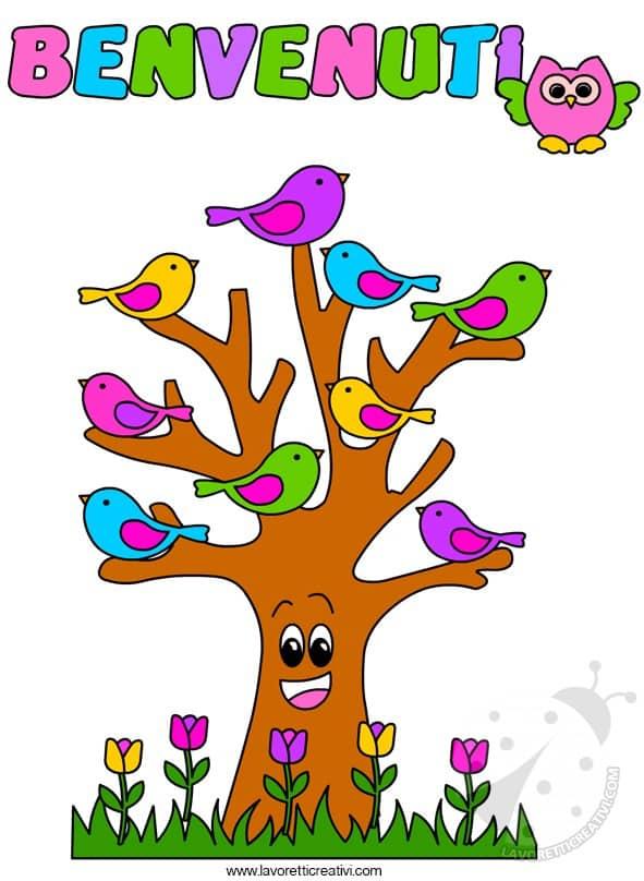 benvenuti uccellini