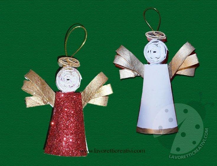 Animali Con Tubi Di Carta Igienica : Come creare un angelo con i tubi della carta igienica lavoretti