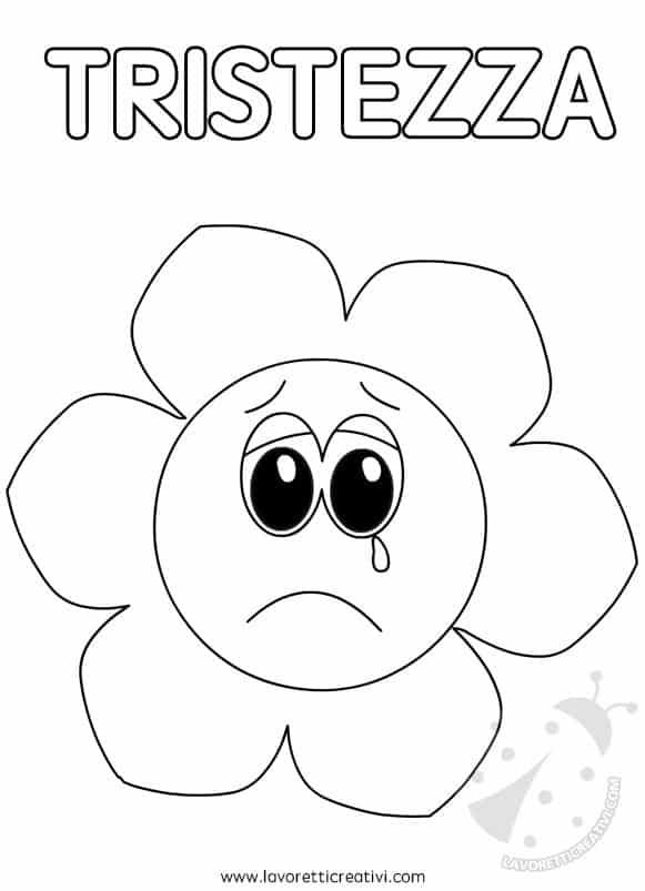 Fiori delle emozioni da colorare lavoretti creativi - Libri da colorare di fiori ...