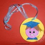 Medaglie per bambini ultimo giorno di scuola