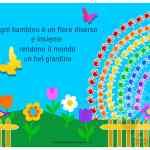 Cartelloni scuola Primaria e dell'Infanzia Giardino con fiori