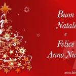 Auguri di Buon Natale e Felice Anno Nuovo Immagini