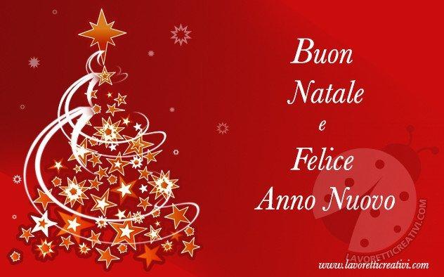 Auguri di buon natale e felice anno nuovo immagini for Immagini cartoline di natale