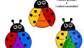 Disegni Per Bambini Sui Colori Primari E Secondari Lavoretti Creativi