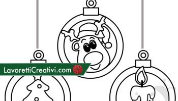 Addobbi Di Natale Da Stampare E Colorare Lavoretti Creativi