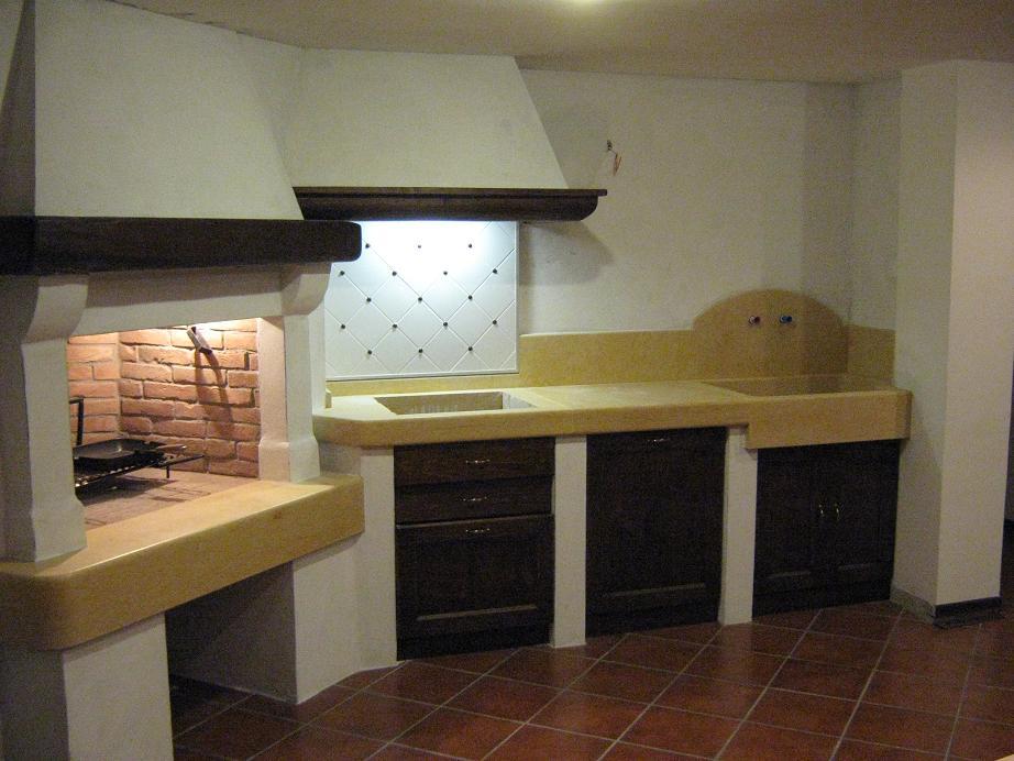 camino e cucina muratura  Spazzacamino Caminetti su