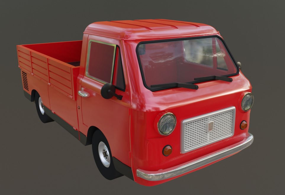 FIAT 850T cassonato HO