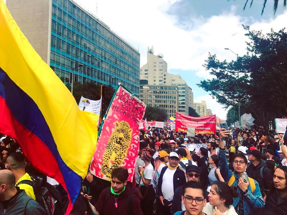 ¡EL PARO NO PARA! - REPORTE SOBRE EL PARO CÍVICO EN COLOMBIA