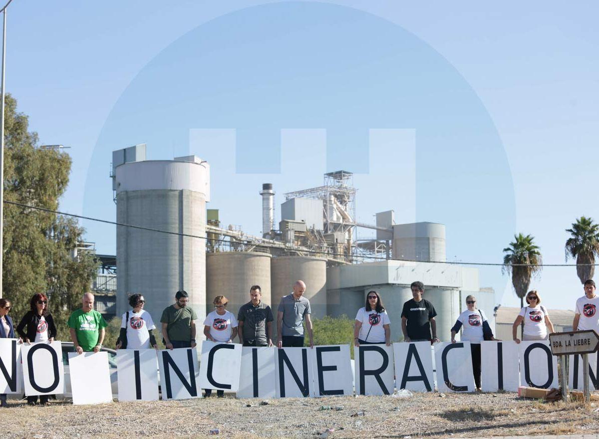Ecologistas Cementera Alcalá