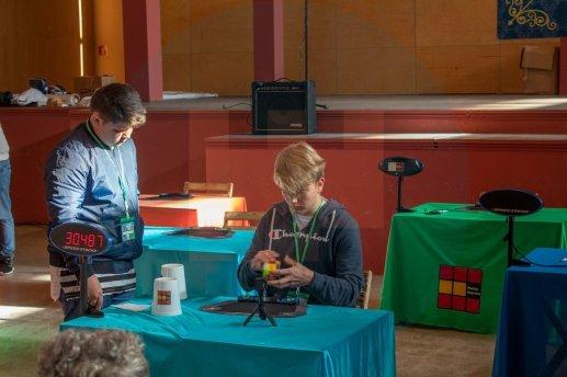 Gran Open cubo de Rubik / David Benítez