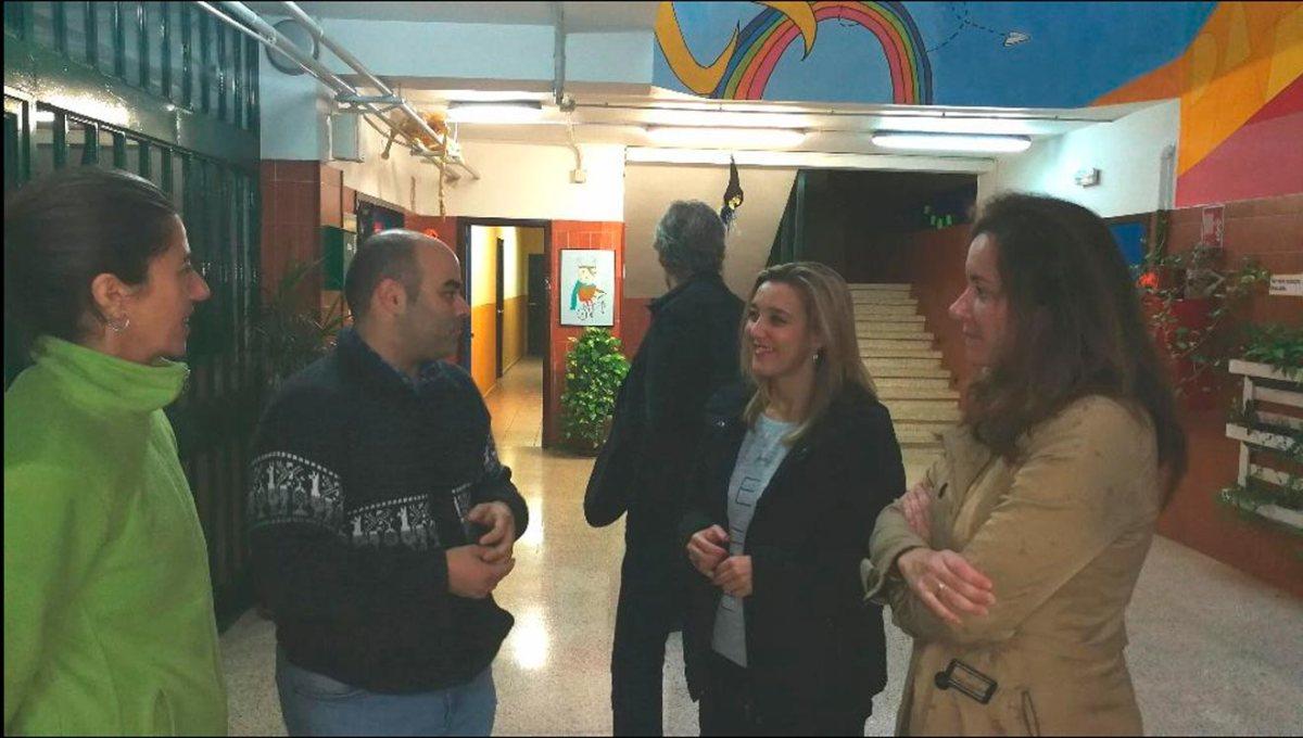 Visita al centro / Ayuntamiento de Alcalá