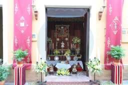Altar durante la procesión del Corpus / Juan Muñoz