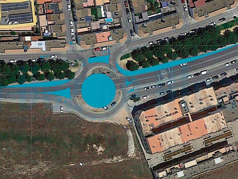 Rotonda en La Nocla