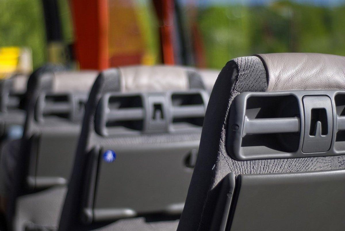 Asientos de un autobús