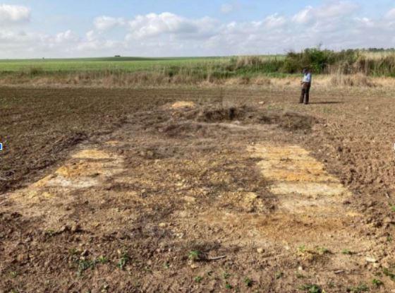 Posibles restos romanos en el arroyo Guadairilla