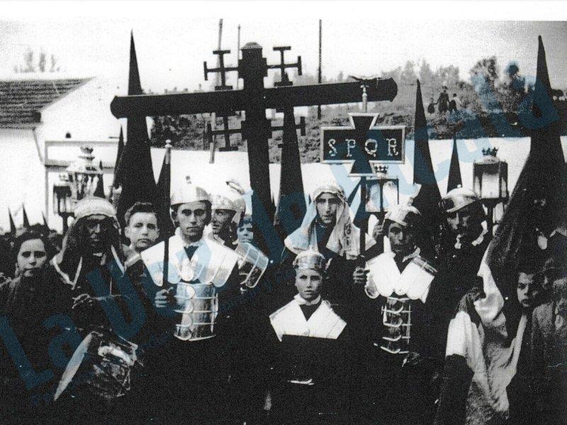 La judea delante de la Cruz de Guía. Archivo