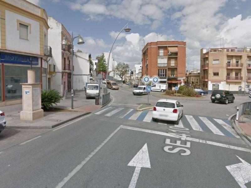 Cruce de calle Bailén con La Cruz del Inglés donde el ciclista fue atropellado / Lva