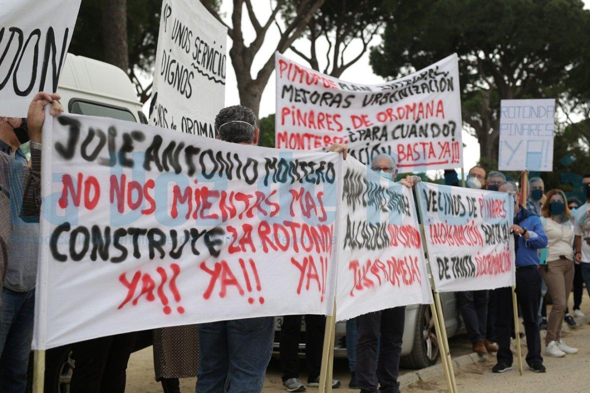 protesta pinares oromana