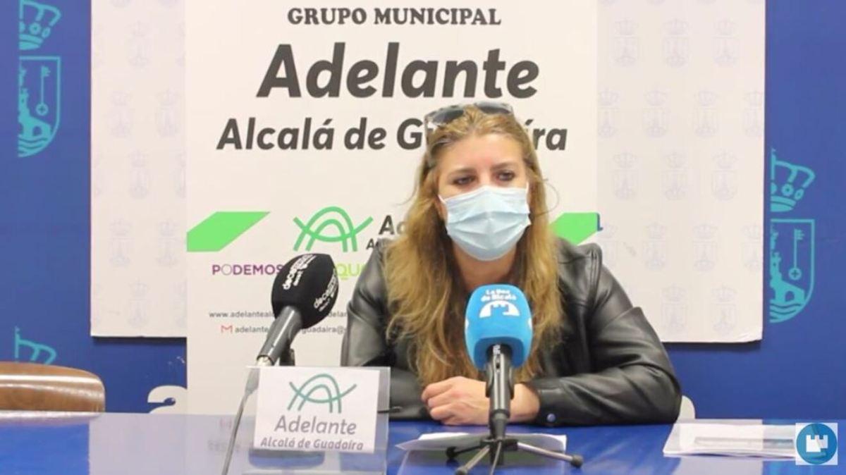 Rueda de prensa Sandra Jaén Adelante Alcalá / Lva