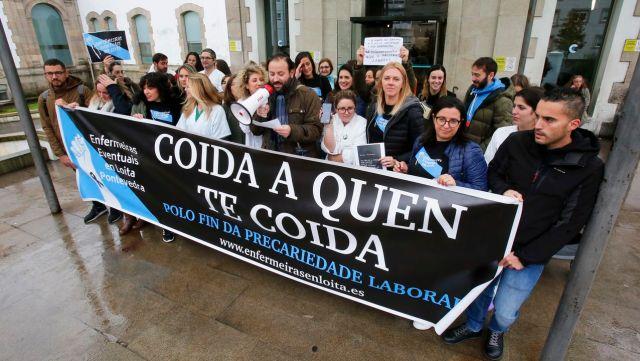 «Todas somos Alba», gritan las enfermeras