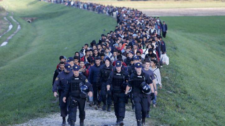 Resultado de imagen de refugiados eslovenia