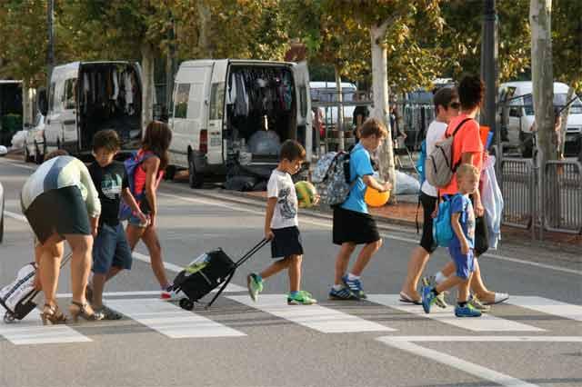Los 162 alumnos de infantil y primaria del Colegio María Quintana de Mequinenza inician el curso escolar