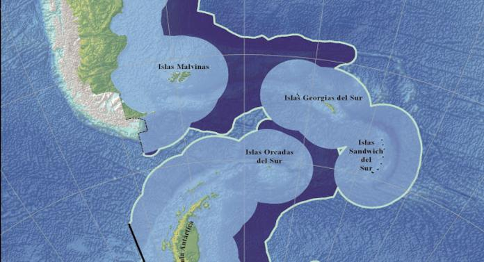 Argentina sumó 1.663 kilometros cuadrados a su plataforma continental