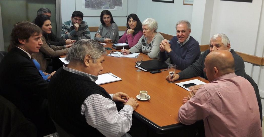 El Intendente se reunió con los representantes de CIMA