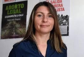 Gloria Sáez del PO incomodó a Linares en relación a su posición sobre el aborto legal